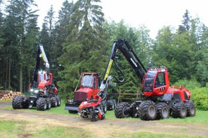 Forwarder und Harvester